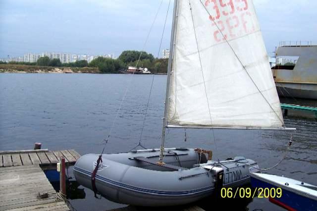 Парусная лодка своими руками