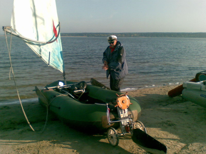 Лодка пвх с парусом своими руками 9
